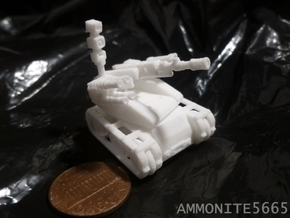 ASMART Articulated Sniper Military Armed Robo Tank in White Strong & Flexible