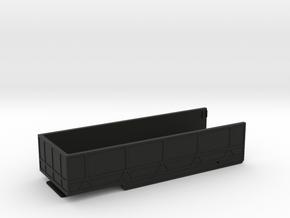 Unimog Hubwagen Mulde 1:32 5/6 in Black Natural Versatile Plastic