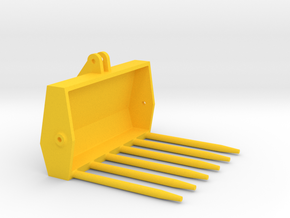 Mistgabel Weise Toys Stoll Klinklader in Yellow Processed Versatile Plastic