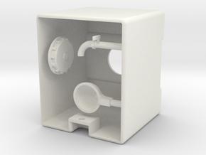 Tank 1000l IBC Container 1:32  in White Natural Versatile Plastic