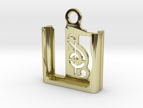 iPod Shuffle Case (4th gen.) in 18k Gold Plated Brass