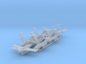 1/700 F9F-5 w/Gear x8 (FUD) in Smooth Fine Detail Plastic