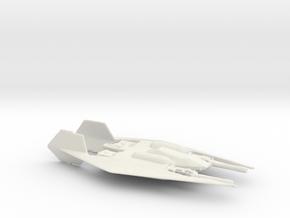 Narn Frazi Fighter (Babylon 5), 1/270 in White Natural Versatile Plastic