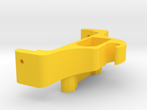 Walkera F210 3D Battery tray rear extension in Yellow Strong & Flexible Polished