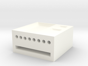 Locker in White Strong & Flexible Polished