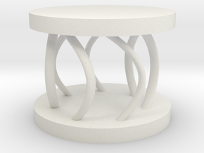 mini chair in White Natural Versatile Plastic