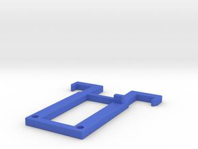 Switchblade Transformation Hook in Blue Processed Versatile Plastic