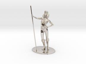 Diana (Acrobat) Miniature in Platinum: 1:60.96