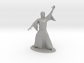 Magic-User Miniature in Raw Aluminum: 1:60.96