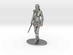 Xena Miniature in Raw Silver: 1:60.96