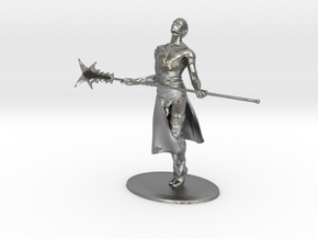 Giant Slayer Miniature in Natural Silver: 1:60.96