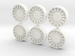Deago Falcon  Engine Vents & Fan Blades Magnetic b in White Processed Versatile Plastic