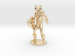 Warduke  Miniature in 14K Yellow Gold: 1:60.96