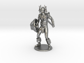 Warduke  Miniature in Natural Silver: 1:60.96
