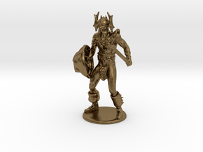 Warduke  Miniature in Natural Bronze: 1:60.96