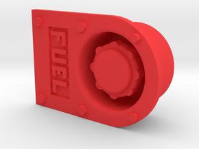 "1.5"" scale 7.5"" Gauge Diesel Fuel Filler GP Locomo in Red Processed Versatile Plastic"