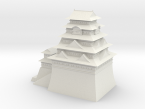 Edo castle in White Strong & Flexible