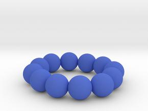 The Blue Sea in Blue Processed Versatile Plastic
