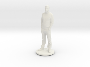 Printle C Homme 004 - 1/64 in White Natural Versatile Plastic