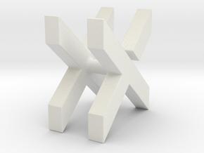 Line manager Mr. X in White Natural Versatile Plastic