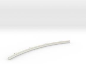 Für Anki Overdrive - Leitplanke Kurve Aussen V3 in White Natural Versatile Plastic