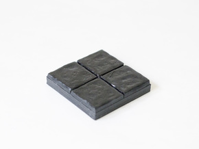 Dragon's Dungeon - Stone floor 2x2 in White Natural Versatile Plastic