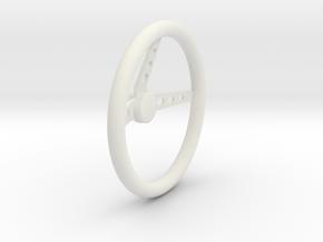Steering Wheel V3 1/8 in White Strong & Flexible