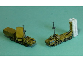 SA-10 Grumble SAM System 1/200 in Smooth Fine Detail Plastic