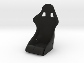 Race Seat S-REV Type - 1/10 in Black Natural Versatile Plastic