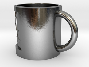 flash of cup in Polished Silver