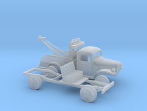 1/87 1945-50 Dodge Power Wagon Tow Truck in Frosted Ultra Detail
