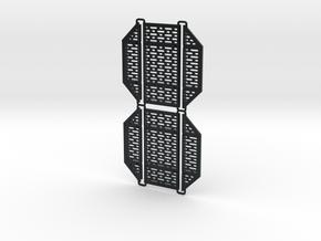 DeAgo Falcon Hold Floor multiple piece Pit Cover in Black Hi-Def Acrylate