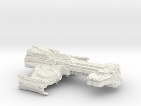SC2 Terrain Battlecruiser  in White Natural Versatile Plastic