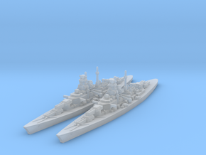 Bismarck class in Smooth Fine Detail Plastic