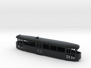 Tatra T1 Trolley TT [body] in Black Hi-Def Acrylate