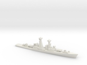 Kynda-class cruiser, 1/2400 in White Natural Versatile Plastic