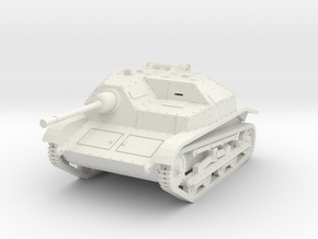 PV139 TKS Tankette w/20mm (1/48) in White Natural Versatile Plastic