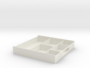 Storage Box in White Strong & Flexible: Medium