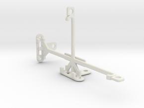 QMobile Noir Z9 tripod & stabilizer mount in White Natural Versatile Plastic