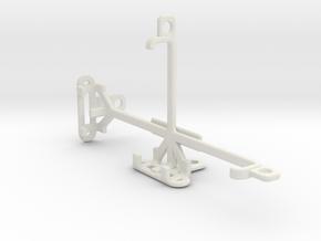 Unnecto Quattro S tripod & stabilizer mount in White Natural Versatile Plastic