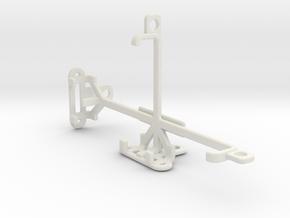 Unnecto Quattro V tripod & stabilizer mount in White Natural Versatile Plastic