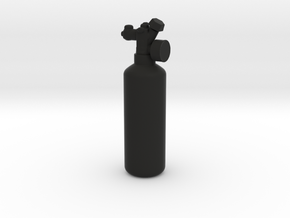 NOS Bottle - 1/10 in Black Natural Versatile Plastic