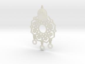 民族風格項鍊.stl in Transparent Acrylic: d3