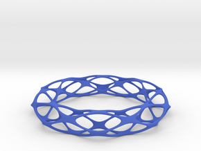Pseudo Voronoi Brace in Blue Strong & Flexible Polished