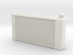 Radiator Promod 1/12 in White Natural Versatile Plastic