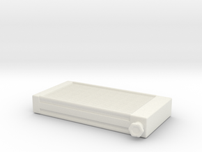 Radiator Promod 1/25 in White Natural Versatile Plastic