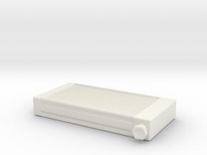 Radiator Promod 1/25 in White Natural Versatile Plastic
