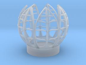Seven Leaf Tealight in Smooth Fine Detail Plastic
