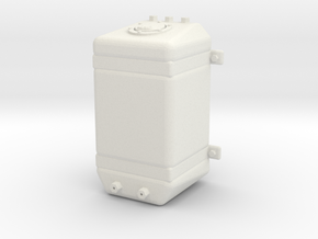 Fuel Tank Promod Upright 1/12 in White Natural Versatile Plastic