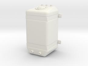 Fuel Tank Promod Upright 1/12 in White Natural Versatile Plastic
